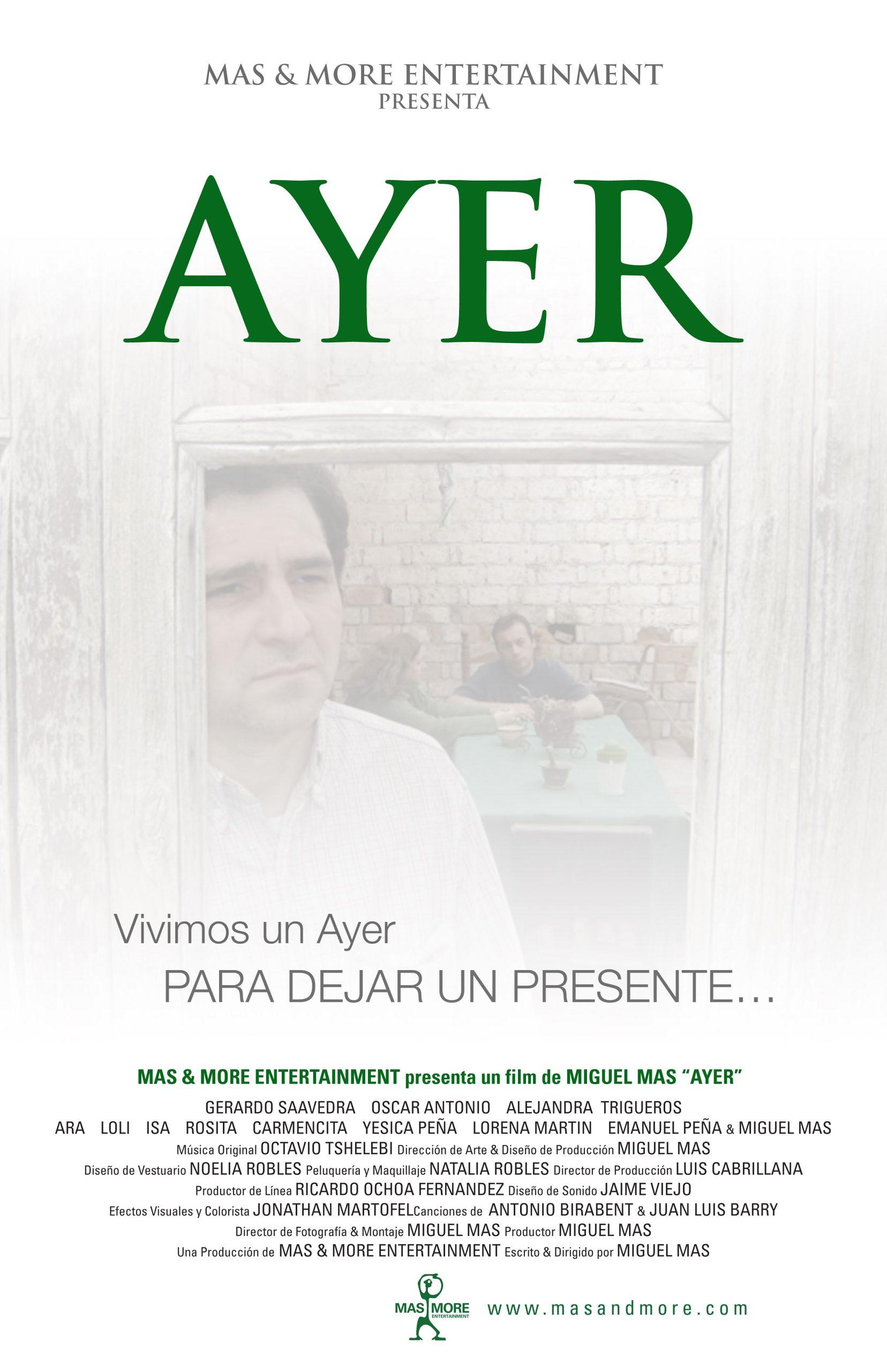 AYER Poster ESP